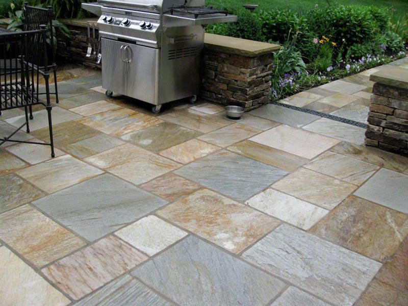 Outdoor Tile Floor