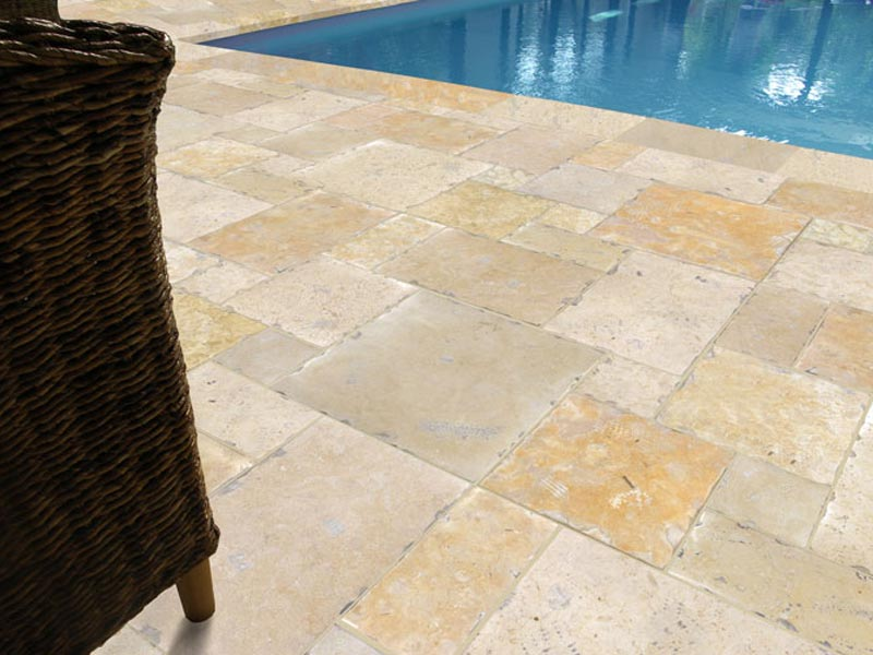 Tile Around Pool